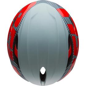 Bell Z20 Aero MIPS Kask rowerowy, matte/gloss gray/crimson
